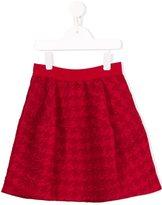 Mi Mi Sol houndsthooth patterned skirt