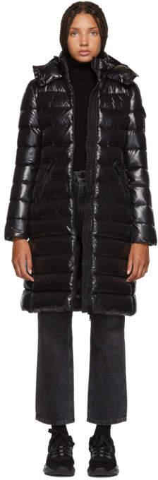 Moncler Black Moka Down Jacket