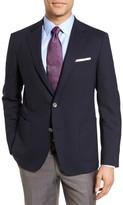 Men's Samuelsohn Classic Fit Stretch Wool Travel Blazer