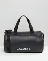 Lacoste Leather Look Holdall