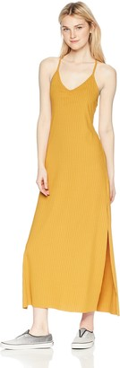 LIRA Women's Ashlynn Ribbed Maxi Dress
