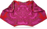 Alexander McQueen The De Manta brocade clutch