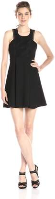BCBGeneration Women's Lace-Front Dress