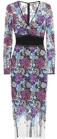 Diane von Furstenberg Embroidered dress