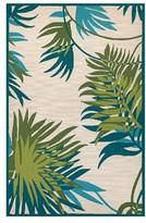 Couristan Jungle Leaves Indoor/outdoor Rug