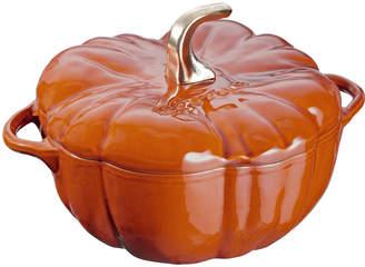 Staub 3.5-Qt. Pumpkin Cocotte, Burnt Orange