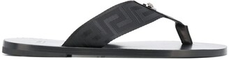 Versace Greca sandals