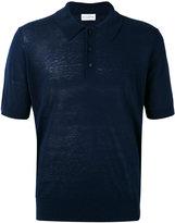 Ballantyne knitted polo shirt - men - Silk/Linen/Flax - 50