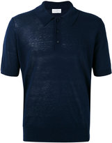Ballantyne knitted polo shirt - men - Silk/Linen/Flax - 54