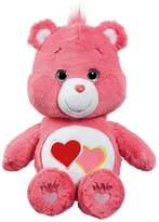 Care Bears Medium Plush With DVD - Love-A-Lot Bear