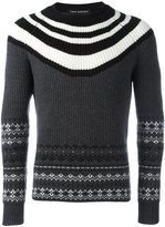 Neil Barrett striped jumper - men - Wool - L