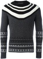 Neil Barrett striped jumper - men - Wool - S