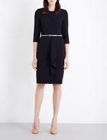 Max Mara Biacco stretch-wool dress