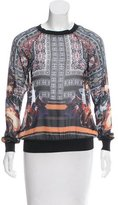 Clover Canyon Abstract Printed Long Sleeve Top