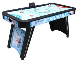 """Star Wars Battle of Hoth 60"""" Two Player Air Hockey Table with Digital Scoreboard Hathaway Games"""