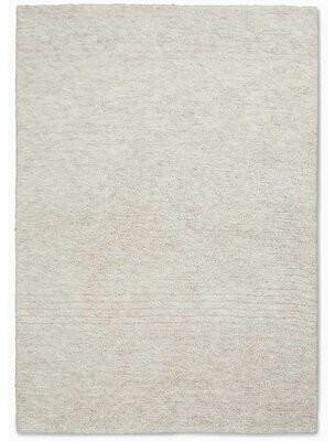 "Calvin Klein Tulsa Handmade Shag Cream Area Rug Rug Size: Rectangle 5'3"" x 7'5"""