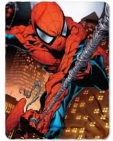 Marvel Spider-Man Web Swing Fleece Throw