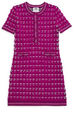 Milly Girl's Tweed Fitted Dress