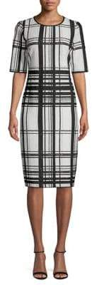 Taylor Plaid Sheath Dress