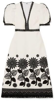 Andrew Gn 3/4 length dress