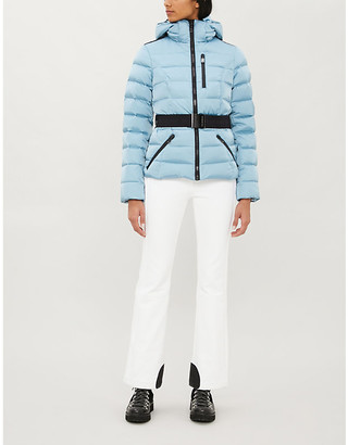 Goldbergh Soldis belted shell-down ski jacket