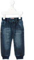 Levi's Kids - elasticated waist & cuffs jeans - kids - Cotton/Polyester/Spandex/Elastane - 12 mth