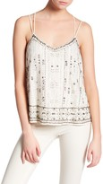 Willow & Clay Double Strap Embellished Tank