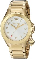 Juicy Couture Women's 1901523 RIO Analog Display Quartz Gold Watch