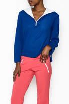odAOMO Blue Sailor Pullover