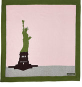 Amber Hagen Statue Of Liberty Cotton-Cashmere Baby Blanket