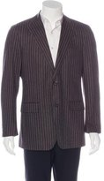 Salvatore Ferragamo Striped Wool Sport Coat