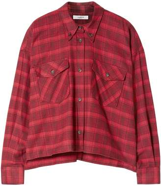 Etoile Isabel Marant Checked Cotton-flannel Shirt