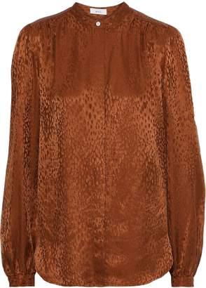 A.L.C. Owens Silk-jacquard Shirt