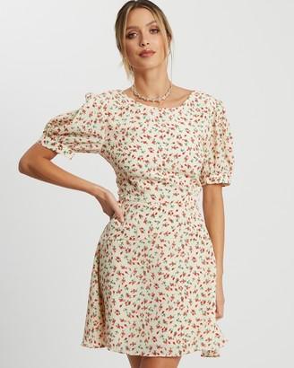 Savel - Women's Neutrals Mini Dresses - Court Mini Dress - Size 6 at The Iconic