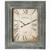 Walker's Framed Clock