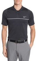 Nike 'Max Swing' Stripe Golf Polo