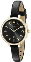 Marc by Marc Jacobs Marc Jacobs Women's Sally Black Leather Watch - MJ1423