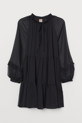 H&M H&M+ Chiffon Dress