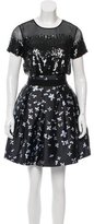 Sachin + Babi Sequined Floral Print Dress w/ Tags