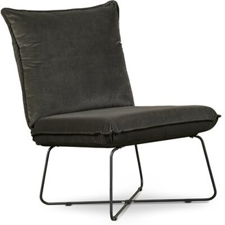 Tommy Hilfiger Ellington Side Chair Fabric: Dark Charcoal Polyester