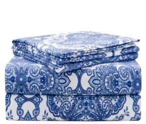 Pointehaven Luxury Weight Flannel Sheet Set Twin Bedding
