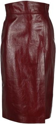 Gucci Slit Detail Skirt
