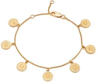 Rachel Jackson London Eternal Sun Coin Bracelet - Gold
