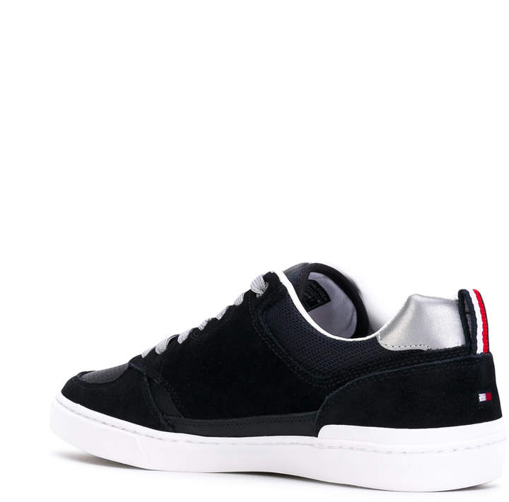 Tommy Hilfiger logo sole stamp sneakers