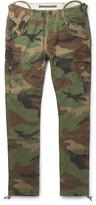 Polo Ralph Lauren Slim-Fit Camouflage-Print Cotton-Canvas Cargo Trousers
