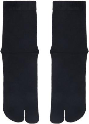Maison Margiela Navy Tabi Socks