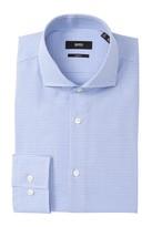 BOSS Jason Geo Check Slim Fit Dress Shirt