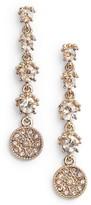 Marchesa Women's Linear Earrings