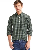 Gap True wash gingham standard fit shirt