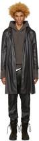 A-Cold-Wall* Black Nylon Raincoat
